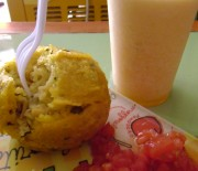 Placer_Papa rellena feat. jugo natural